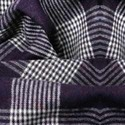 Polyester Pinstripe Wool Fabric