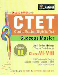 CTET Success Master Paper II Social Studies Science Class VI-VIII