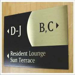 Etched Signs
