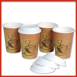 Paper Cups with Plastic Coating