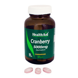 Cranberry 5000 Mg  60 Tablets