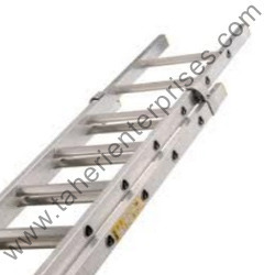 wall supporting extension ladders