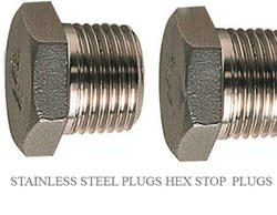 SS Hex Stop Plugs