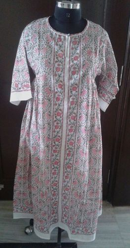 Traditional Hand Block Bhopali Tunic