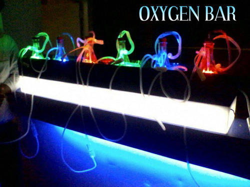 Oxygen bar at wedding