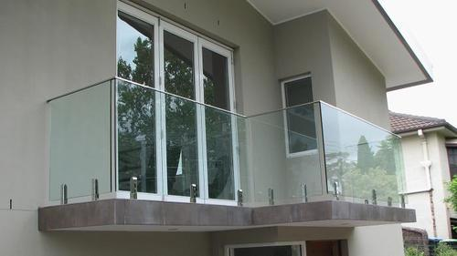 Staircase Railing Works Balcony Glass Railing Service
