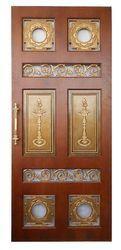 Pooja Brass Door