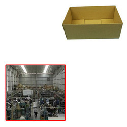 Half Slotted Container for Shoes Industry