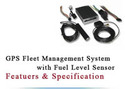 GPS Fleet Management System With Fuel Level Sensor
