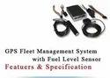 GPS Fleet Management System With Fuel Level Sensor