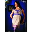fancy purple kurti