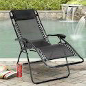 Kawachi Zero Gravity Relax Recliner Folding Chair (K50)