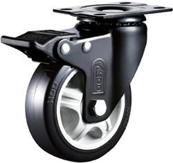 Light Duty Caster Wheels Grand Polyurethane Single Ball