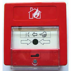 Analogue Addressable Manual Call Point with Flap