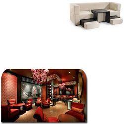 Designer Leather Sofa for Hotels