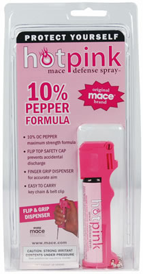 Mace Hot Pink Pepper Spray Mumbai