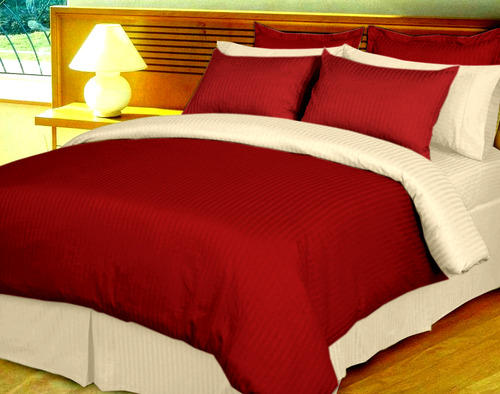 High Quality Reversible Duvet Set Egyptian Cotton Stripe