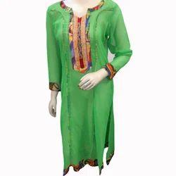 Green Ethnic Kurti