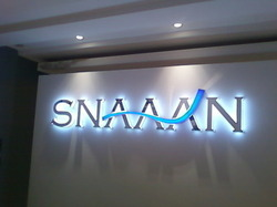 Steel LED Acrylic Letter