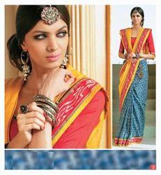 charming trends designer chanderi silk sarees
