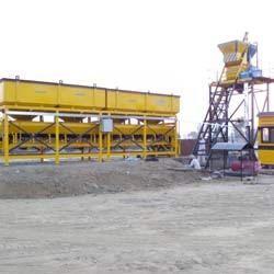 inline concrete batching plant