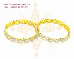 Designer Fancy American Diamond Bangle