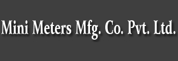 Mini Meters Mfg. Co. Pvt. Ltd