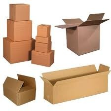 Corrugated Brown Boxes