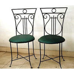 Patio Deck Wrought Iron Chair
