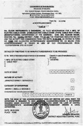 SME Certificate