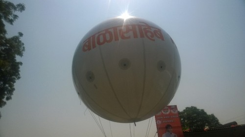 Big Advertising Balloon