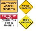 Construction Sign Boards