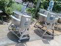 Jacketed Heating System Paste Kettle