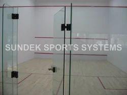 Squash Court Air Cush Wooden Flooring