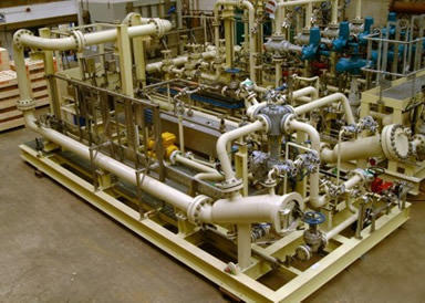 Pressure Reduction Amp Metering Skid Manufacturer From Anand