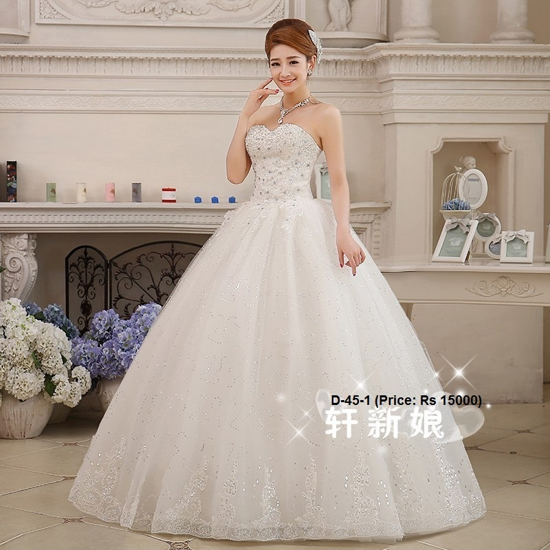 Wedding Gowns Bridal Dress At Rs 1 Piece S