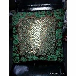 Multi Colour Silk Cushion Cover