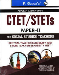 CTET STETs for Social Studies Teachers Paper II