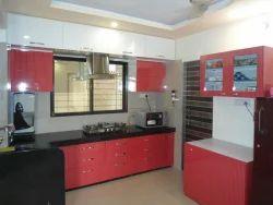 Modular kitchens in surat gujarat modern kitchens for Semi modular kitchen designs