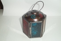 Small Six Side  Hexagone Copper Antique Glass Lantern