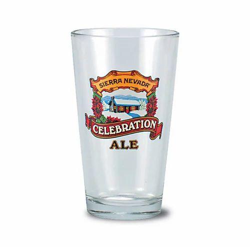 Custom Printed Beer Glass