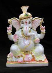 Marble Ganesh Idol