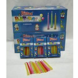 Bitoo Birthday Candle