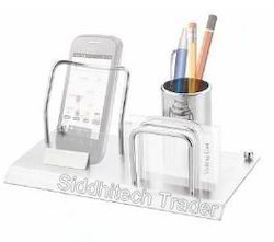 Pen Stand with Visiting Card Holder