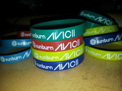 Sunburn Avicii Wristbands