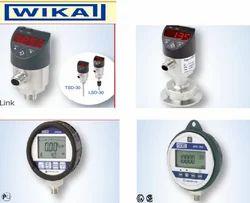 Wika DIGITAL PRESSURE GAUGES / TRANSMITTER