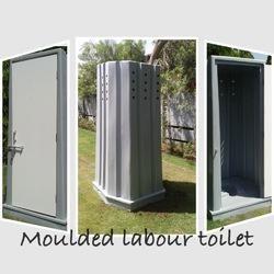 Moulded Labour Toilets