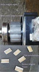 Servo Motor Broken Magnet Repair