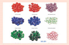 Luster Glass Beads Mix CODE : MA-02