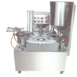 Rotary Automatic Curd Cup Sealer